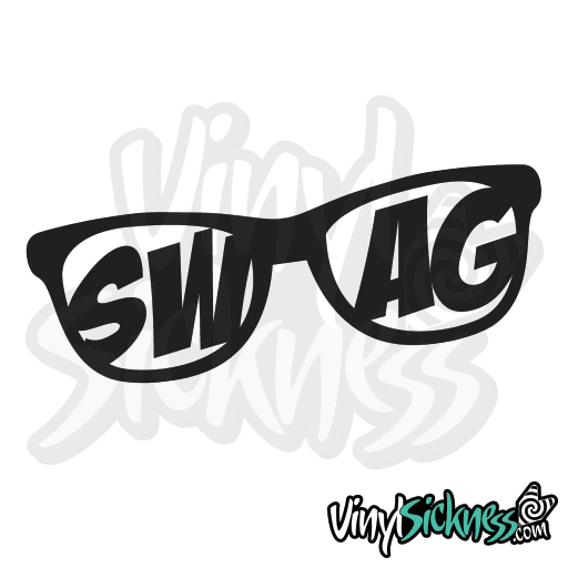 SWAG GLASSES • STICKERS / DECALS • Vinyl Sickness